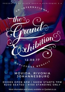 The Grand Exhibition JHB 2017
