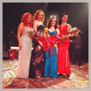 The princesses and queen of burlesque, NOBF 2013