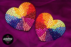 Sparkly and close to our hearts!
